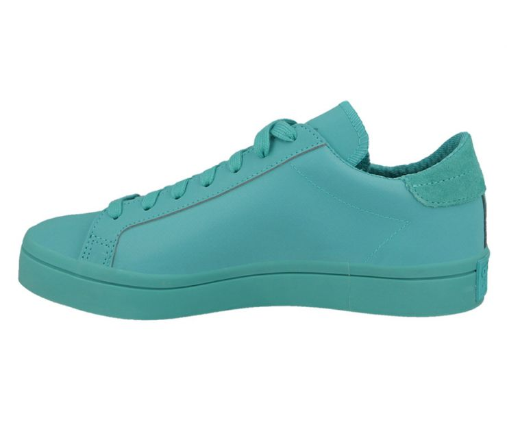 Оригинальные adidas Originals Court Vantage AdiColor Trainers in Green
