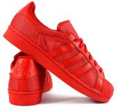 "Кроссовки adidas Superstar ""Collegiate Red"""