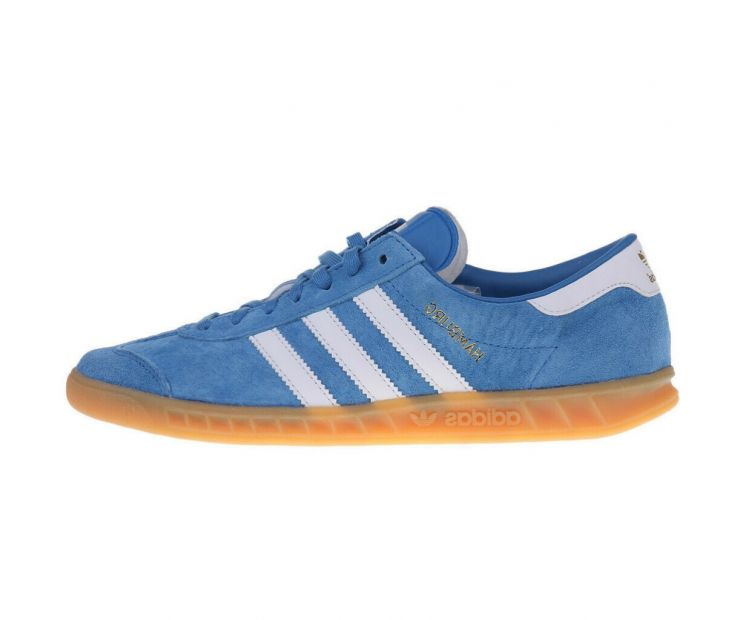 Кроссовки ADIDAS HAMBURG White/Blue
