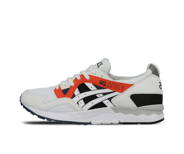Кроссовки ASICS GEL LYTE V White/Orange