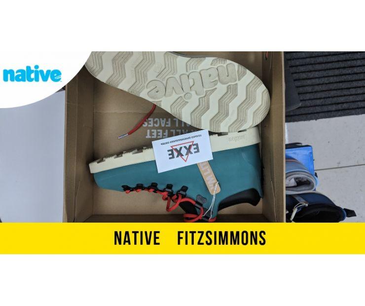 Ботинки Native Fitzsimmons - стильная обувь для зимы