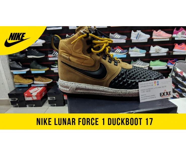 Обзор Nike lunar force 1 duckboot 2017