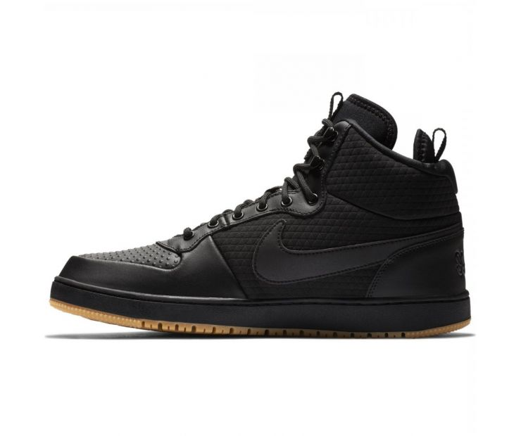 Кроссовки Nike Ebernon MID WINTER (black)