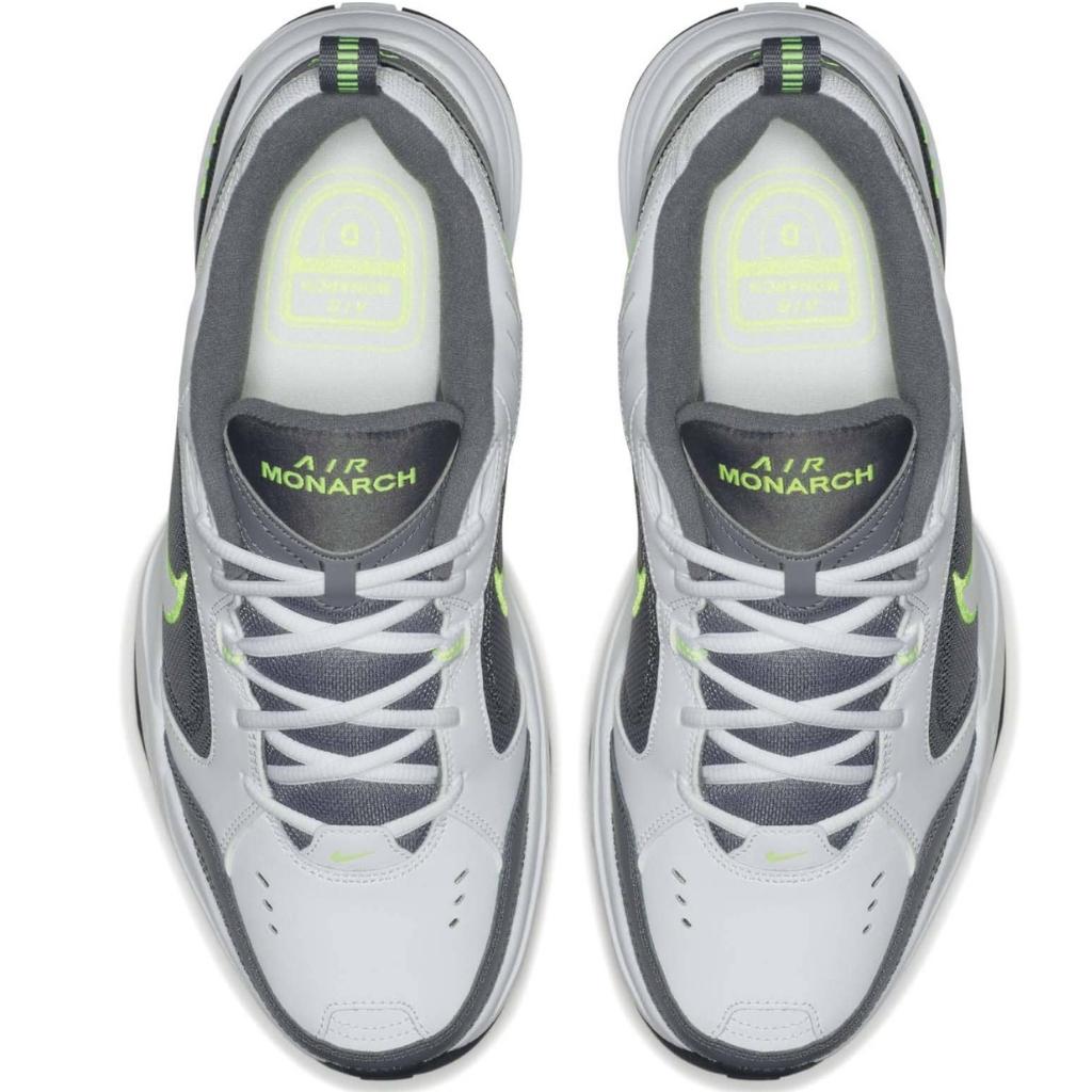 48a81b62 Кроссовки Nike AIR Monarch IV grey/green в Минске. Оригинал ...