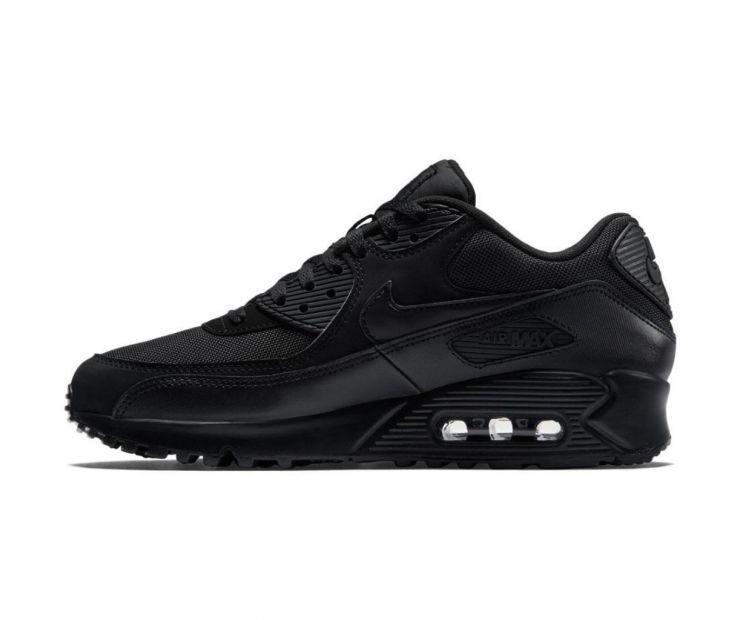 """оригинальные Кроссовки Nike Air Max 90 Essential """"All black"""""""