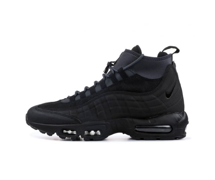 Кроссовки NIKE AIR MAX 95 SNEAKERBOOT TRIPLE BLACK