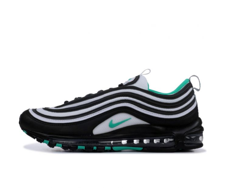 Кроссовки NIKE AIR MAX 97 Black/Clear Emerald