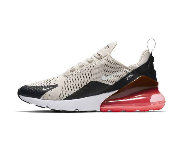 Кроссовки NIKE AIR MAX 270 Light Bone Hot Punch