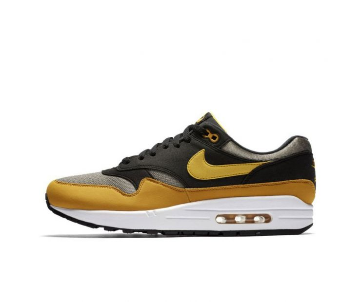 Кроссовки NIKE AIR MAX 1Black/Yellow