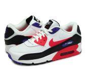 Кроссовки Nike Air Max 90 Essential White/Red Orbit-Psychic Purple