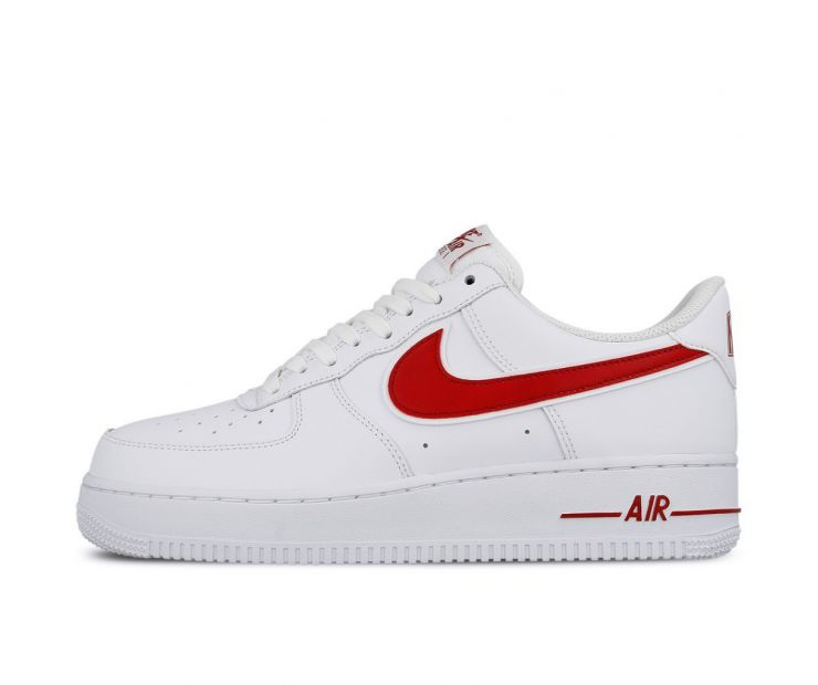 Кроссовки NIKE AIR FORCE 1 07 3 Gym Red