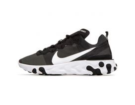 Кроссовки NIKE REACT ELEMENT 55 Black/White