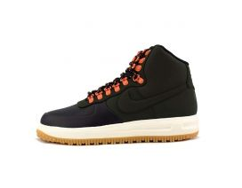 Кроссовки NIKE LUNAR FORCE 1 DUCKBOOT 18 (green/orange)