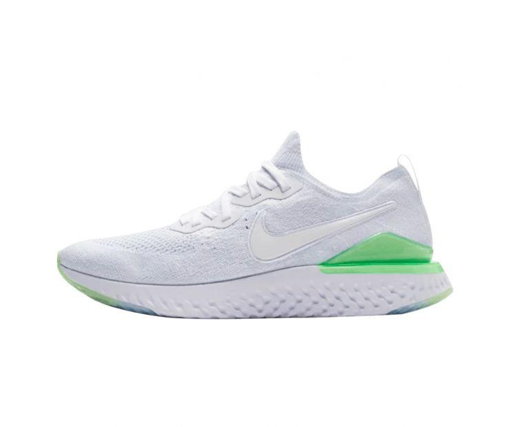 Кроссовки Nike Epic React Flyknit 2 'Lime Blast'