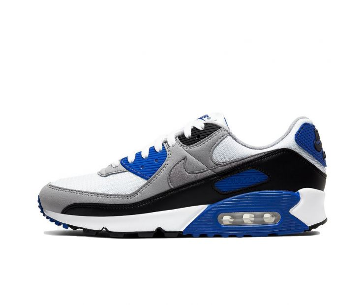 Кроссовки NIKE AIR MAX 90 Grey/White/Blue