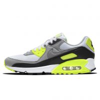 Кроссовки NIKE AIR MAX 90 White/Particle Grey/Volt Black