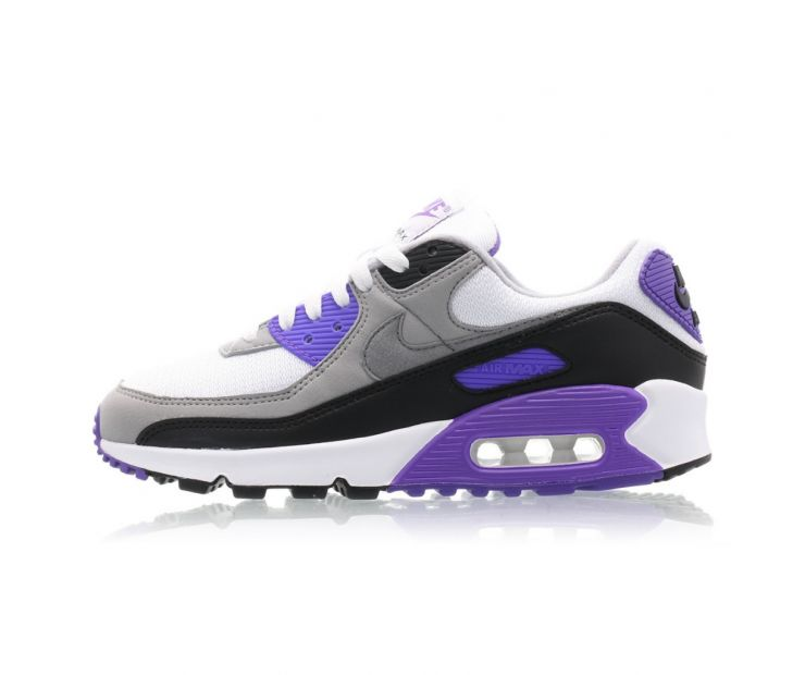 Кроссовки NIKE AIR MAX 90 Particle Grey/Hyper Grape/Black