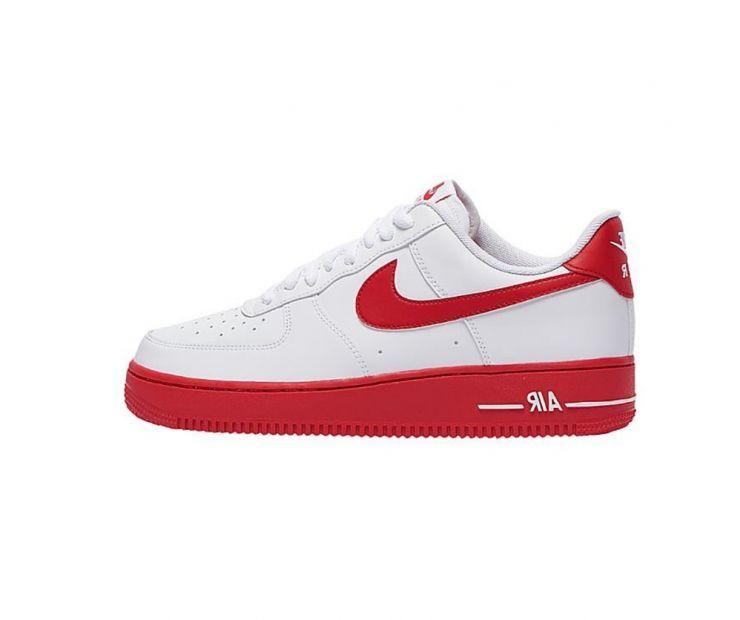 Кроссовки NIKE AIR FORCE 1 07 Low White/Red