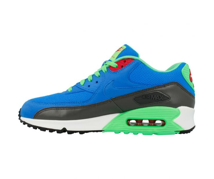 Кроссовки Nike Air Max 90 Essential green-blue