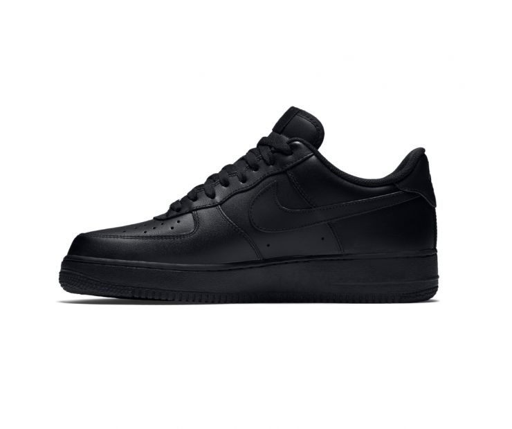 Кроссовки Nike Air Force 1 '07 black leather