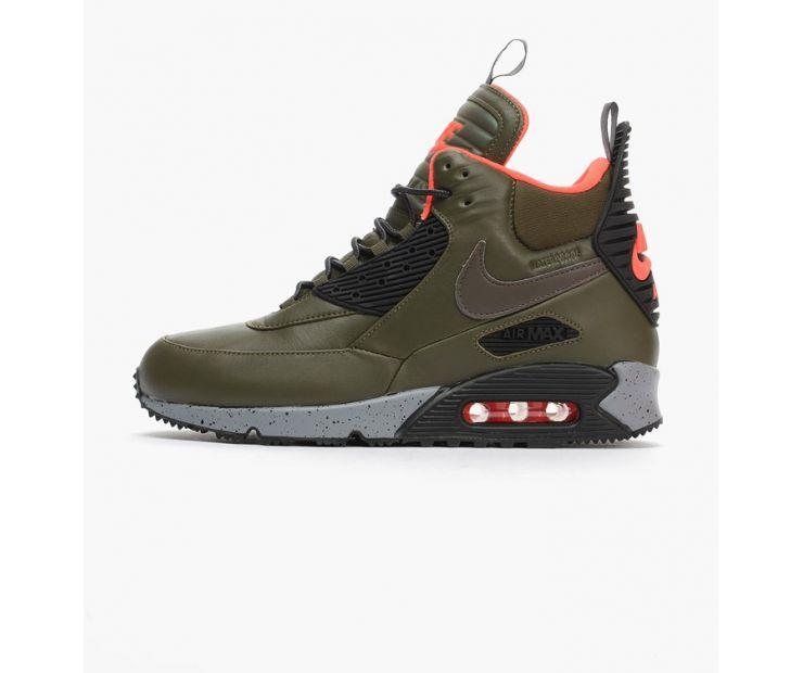 Кроссовки Nike Air Max 90 Sneakerboot Winter chaki