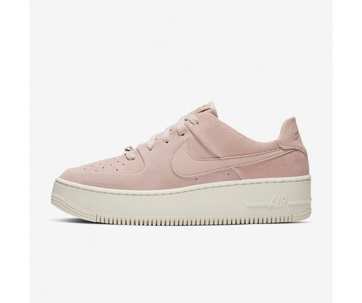 Кроссовки NIKE WMNS AIR FORCE 1 SAGE LOW Pink