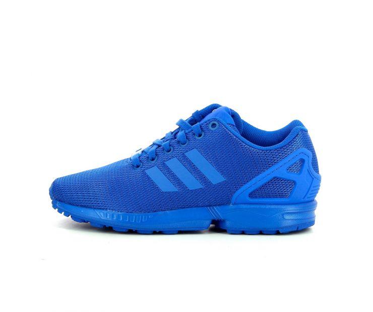 "Кроссовки adidas ZX Flux ""Bold Blue"""