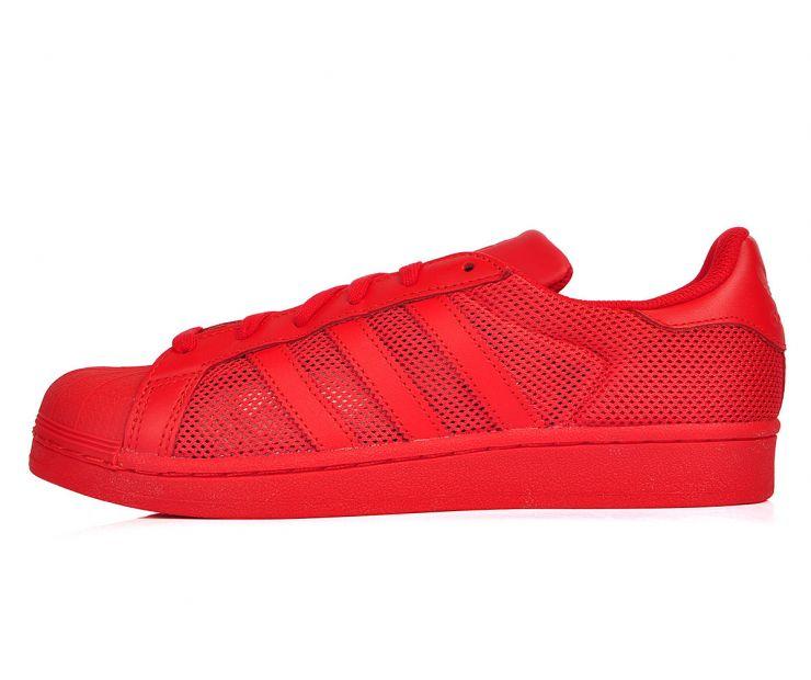 "Кроссовки adidas Superstar ""Collegiate Red"""