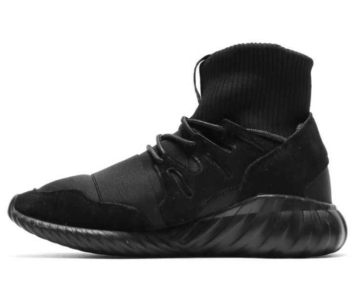 "Кроссовки adidas Tubular Doom ""Core Black"""