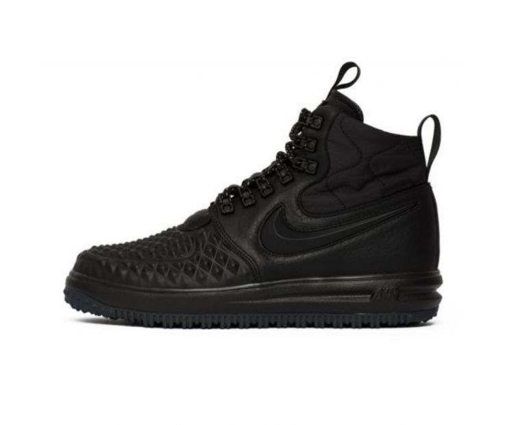 "Кроссовки Nike Lunar Force 1 Duckboot  2017 ""Black"""